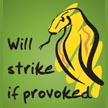 Will Strike If Provoked